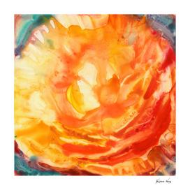 Heat Watercolor Painting