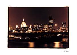 London night skyline