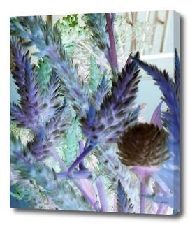 Luminous Blue Bouquet