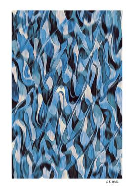 Blue Wax