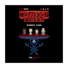 Stranger Things 16-bit
