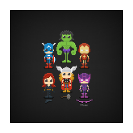 The Avengers 16-bit