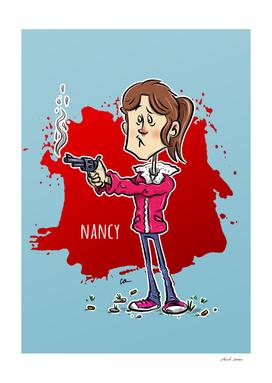 Nancy Stranger Things Season 1