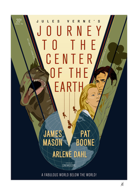 poster_journey to the center of the earth