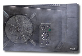 Space Station Hatch