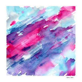 Melting colors || watercolor
