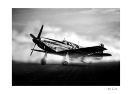 World War Two Mustang Fighter Plane