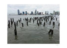Hudson River Pilings