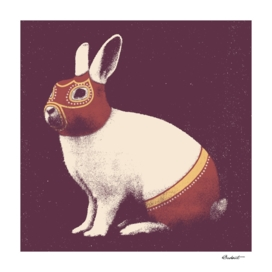 Lapin Catcheur (Rabbit Wrestler)