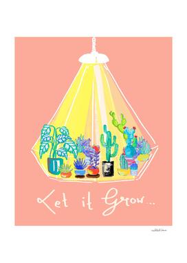 Let it grow - Illustration