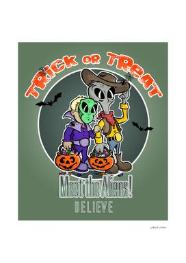 """Meet the Aliens  """"Halloween Special"""""""
