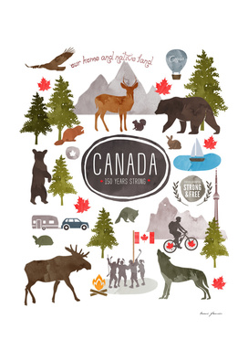 Canadian Watercolour