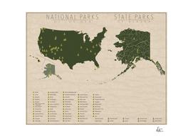 US National Parks - Alaska