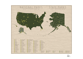 US National Parks - Alaska