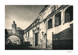 Antique buildings in Antigua, Guatemala