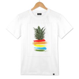 Rainbow Pineapple