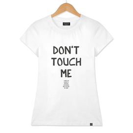 Don't Touch me - A Hell Songbook Edition