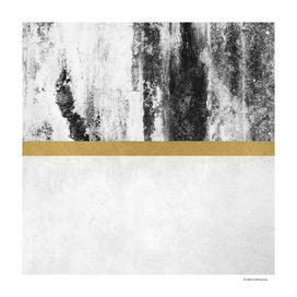 Golden Line / White