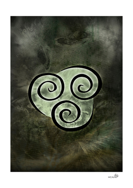 Avatar Symbol Air Element + Texture