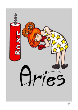 "Aries among the stars - series of T-shirts ""Polaris"""