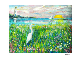 Lighthouse Heron