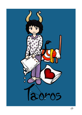 "Taurus among the stars - series of T-shirts ""Polaris"""