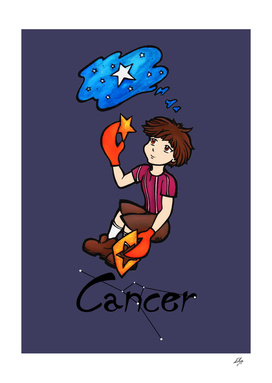 "Cancer among the stars - series of T-shirts ""Polaris"""