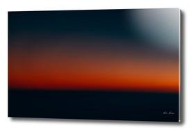Aerial Photo Of Ocean Sunset