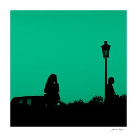 Modern city green