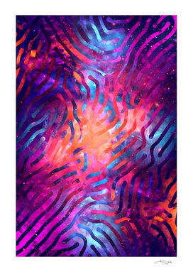 Artistic XCIV - Patterned Nebula / NE