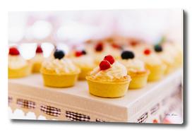 Fruit Cupcake Cookies At Wedding Candy Bar