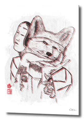 Kitsune Portrait
