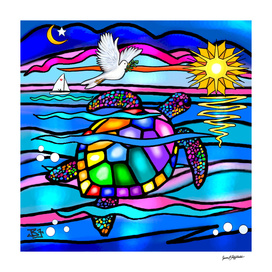 Sea Turtle Twilight Swim