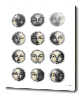 moon phases and romanticism