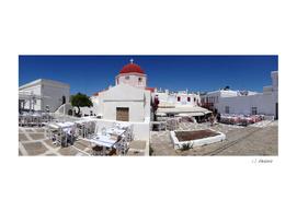 Plaza in Mykonos