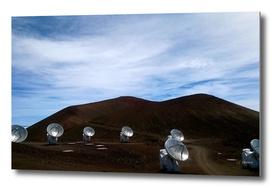 Telescopes on Mauna Kea