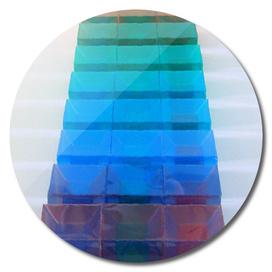 2-d Presentation of 3-d Representations of 4-d Cubes