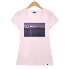 Sydney Waterfront View Postcard