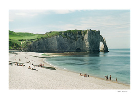 Etretat, France analog scan