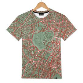 Tokyo city map pop