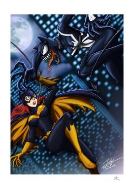Batgirl vs Venom Catwoman