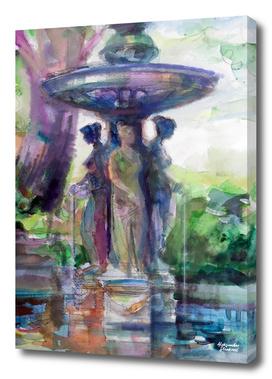 Three Graces Fountain
