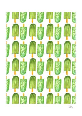 Cactus Popsicles Pattern