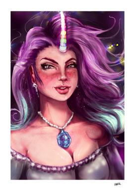 Colorful Unicorn Princess
