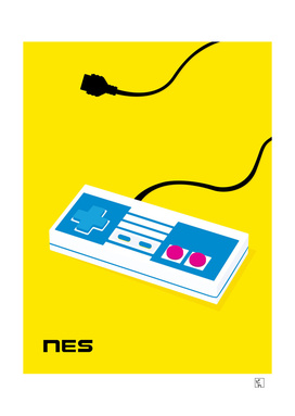 Pop Art NES Controller