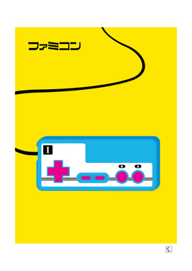 Pop Art Famicom Controller