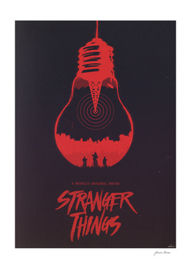 The Upside Down - Stranger Things