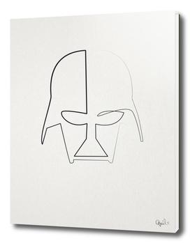 One Line Vader