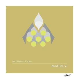 Maitre Yi - Fine lame Wuju