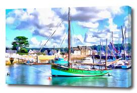 Boat in Bretagne